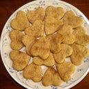 Heart-Shaped Crackers