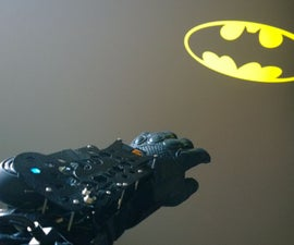 Batkid Tech #3: Wrist-Projector Communicator