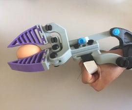 Fin Gripper (Robotic/Prosthetic Hybrid) - Mark VI