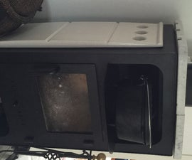 Improve wood stove