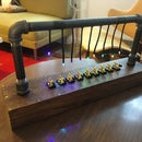 LED Pipe Menorah