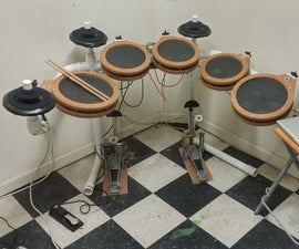 Homemade Electronic Drum Kit