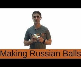 How to Make Russian Juggling Balls