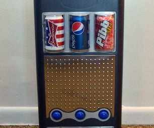 Redone Personal Vending Machine for Barley Soda and High Fructose Beverages