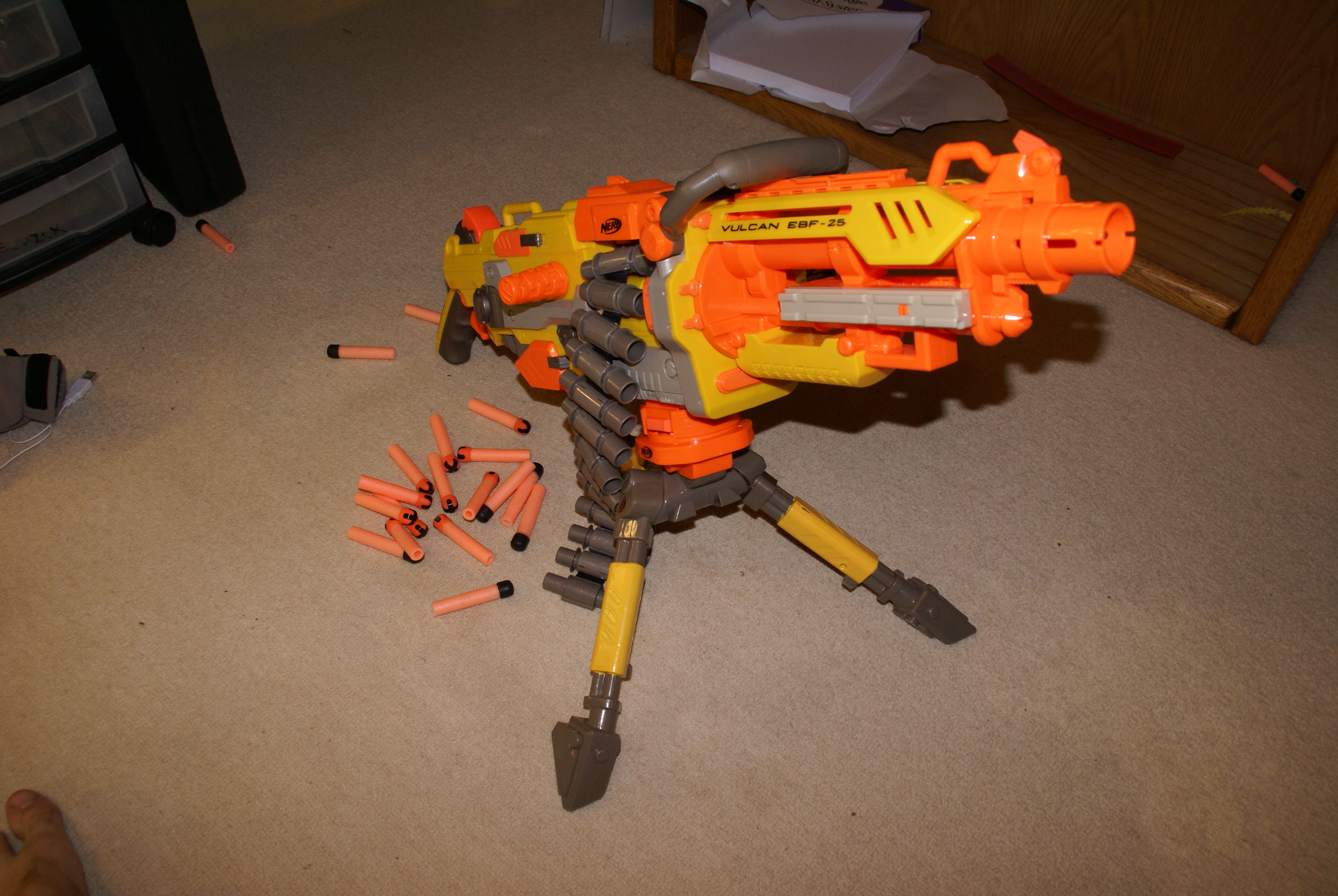 Picture of Nerf Vulcan Modification Project