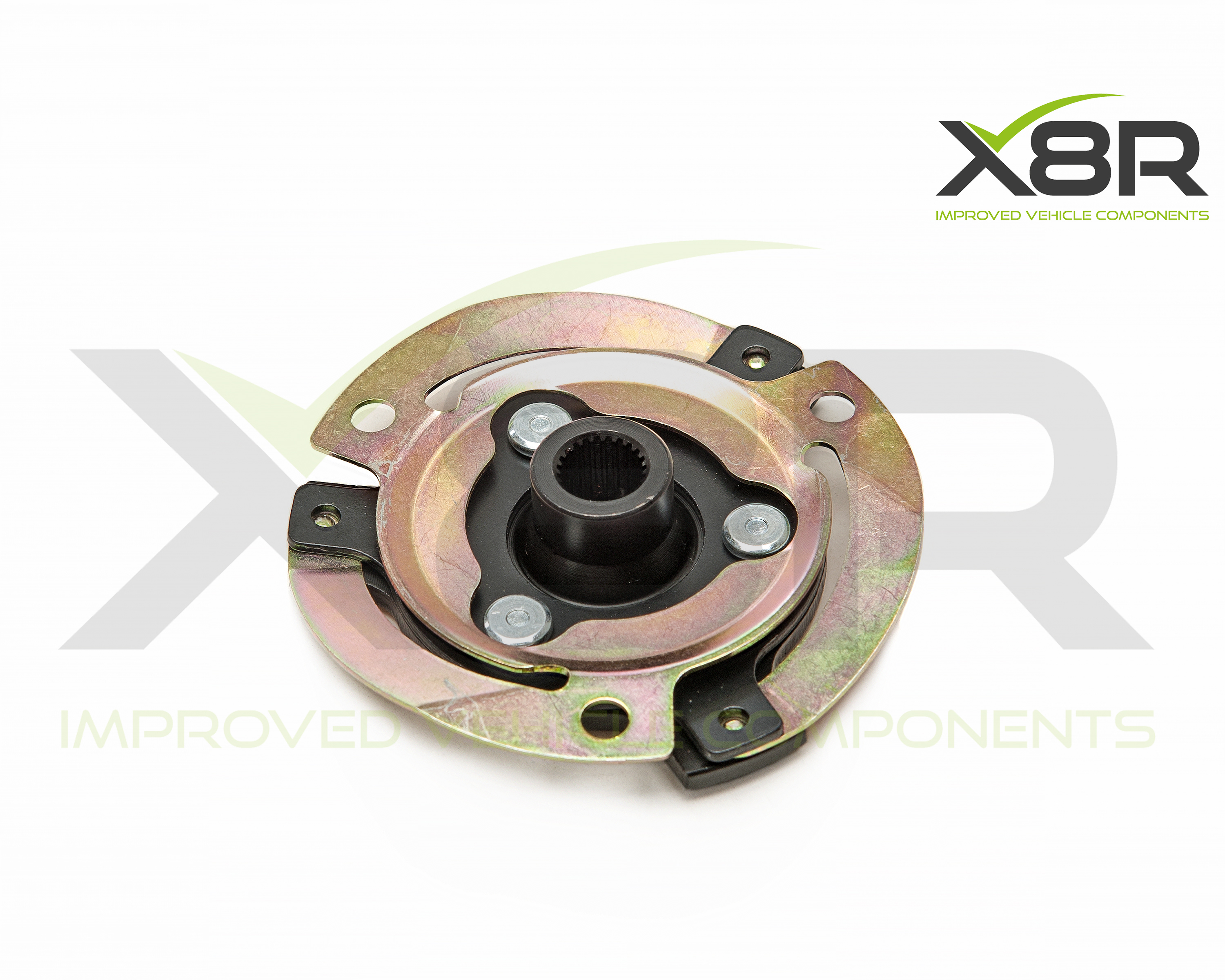 Picture of VW Audi Seat Skoda Air Conditioning Compressor Pump Clutch Hub Plate Disc 5N0820803, 5N0820803A, 5N0820803E, 5K0820803A Repair Fix Kit Instructions Install Guide