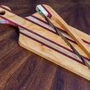 Elegant wood breadboard