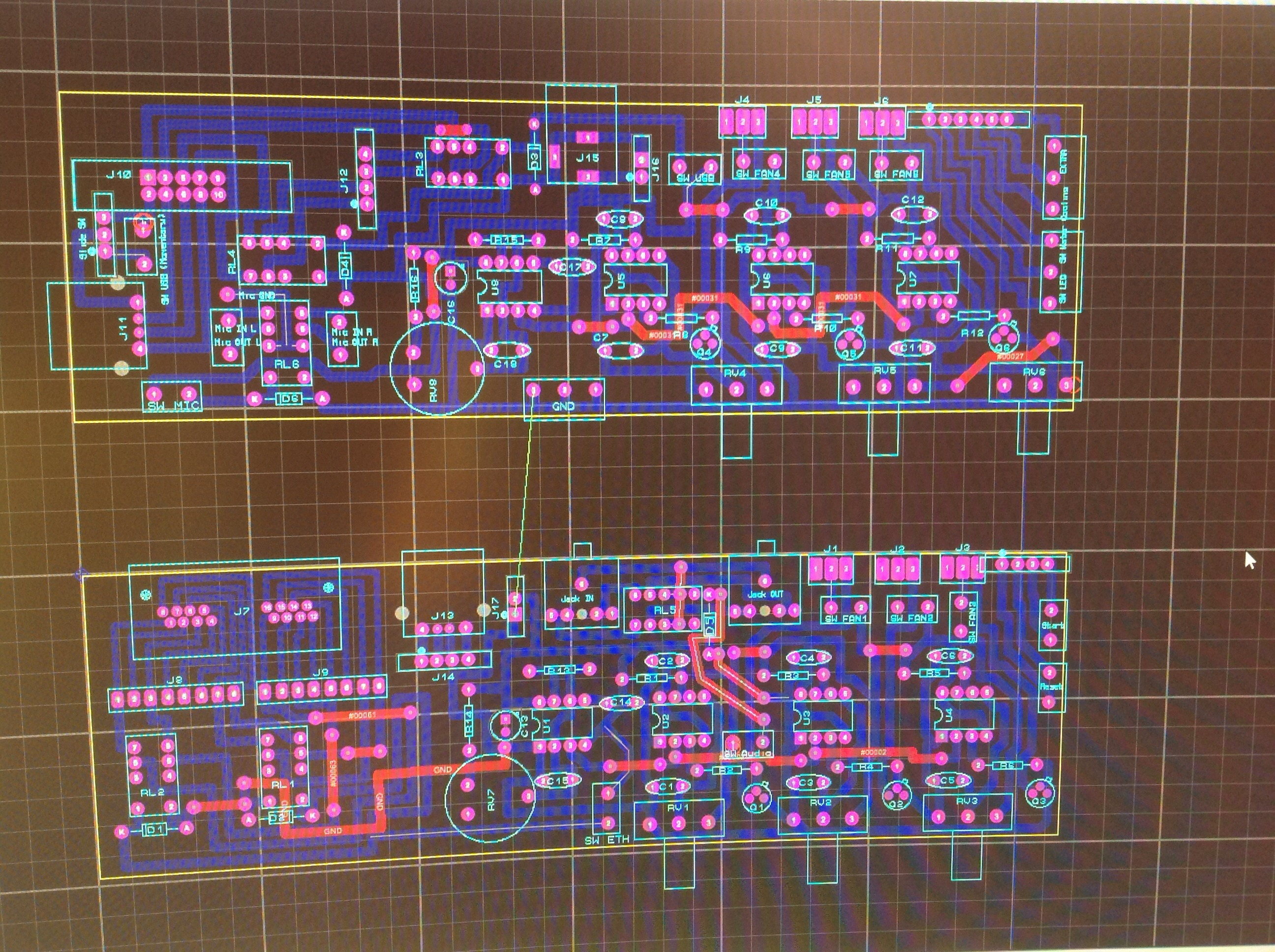 Picture of Drawing the PCB