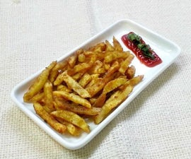 Spicy Potato Fries