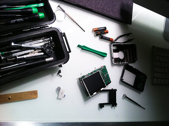 Picture of Excellent instructable idea ~ Retro camera~ digital guts into different or handmade body