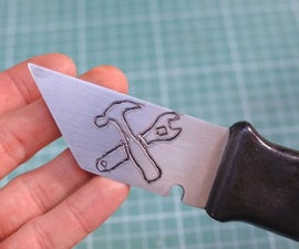 How to Etch a Picture on a Knife