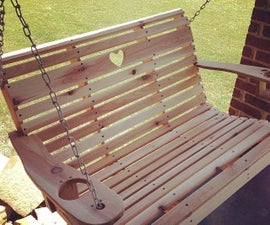 DIY Porch Swing (Free Templates!)