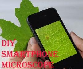 How To Make Simple Smartphone Microscope ( 40x - 170x) & (DIY)