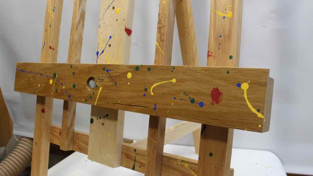 Picture of Rainbow Splattered Easel