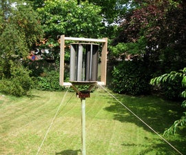 Building a Vertical Axis Wind Turbine ( VAWT )