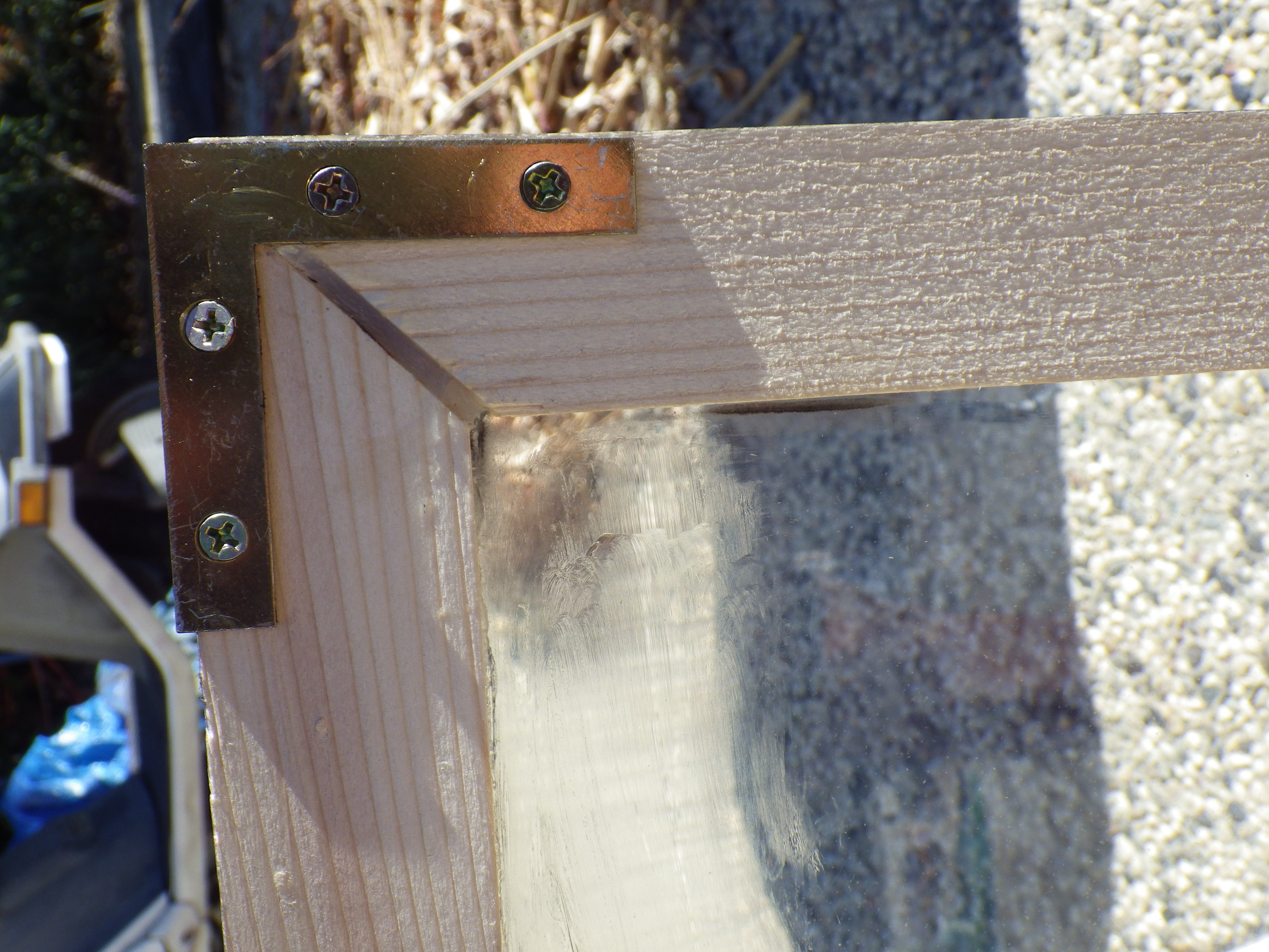 Picture of Building the Framed Glass Door.