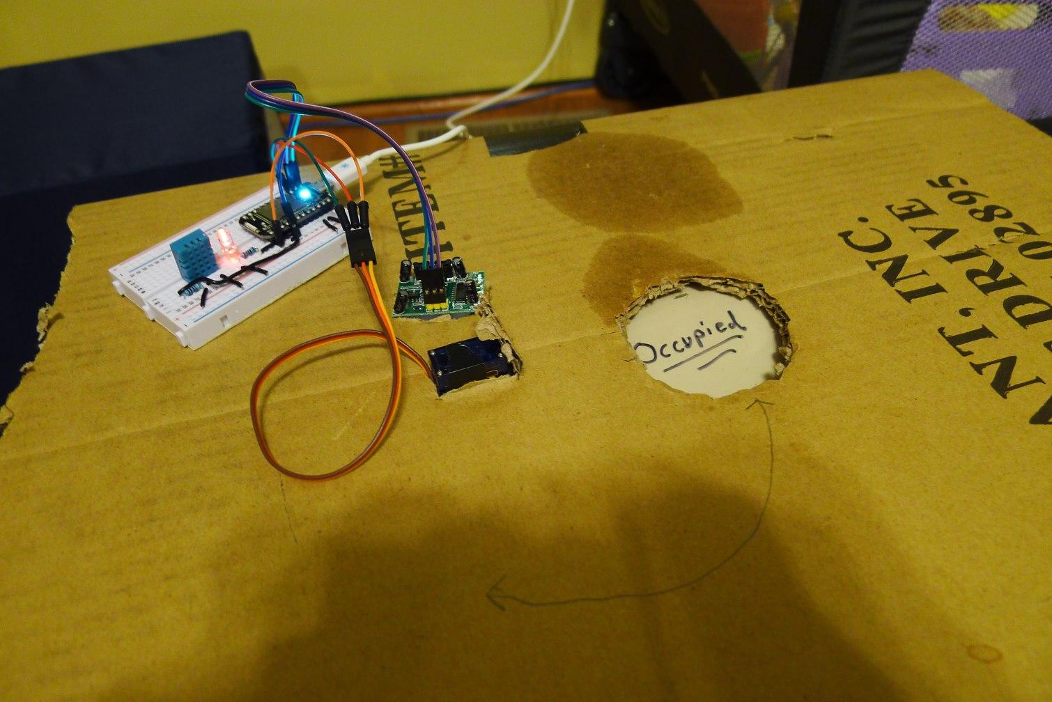 Picture of Assemble Motion Sensor