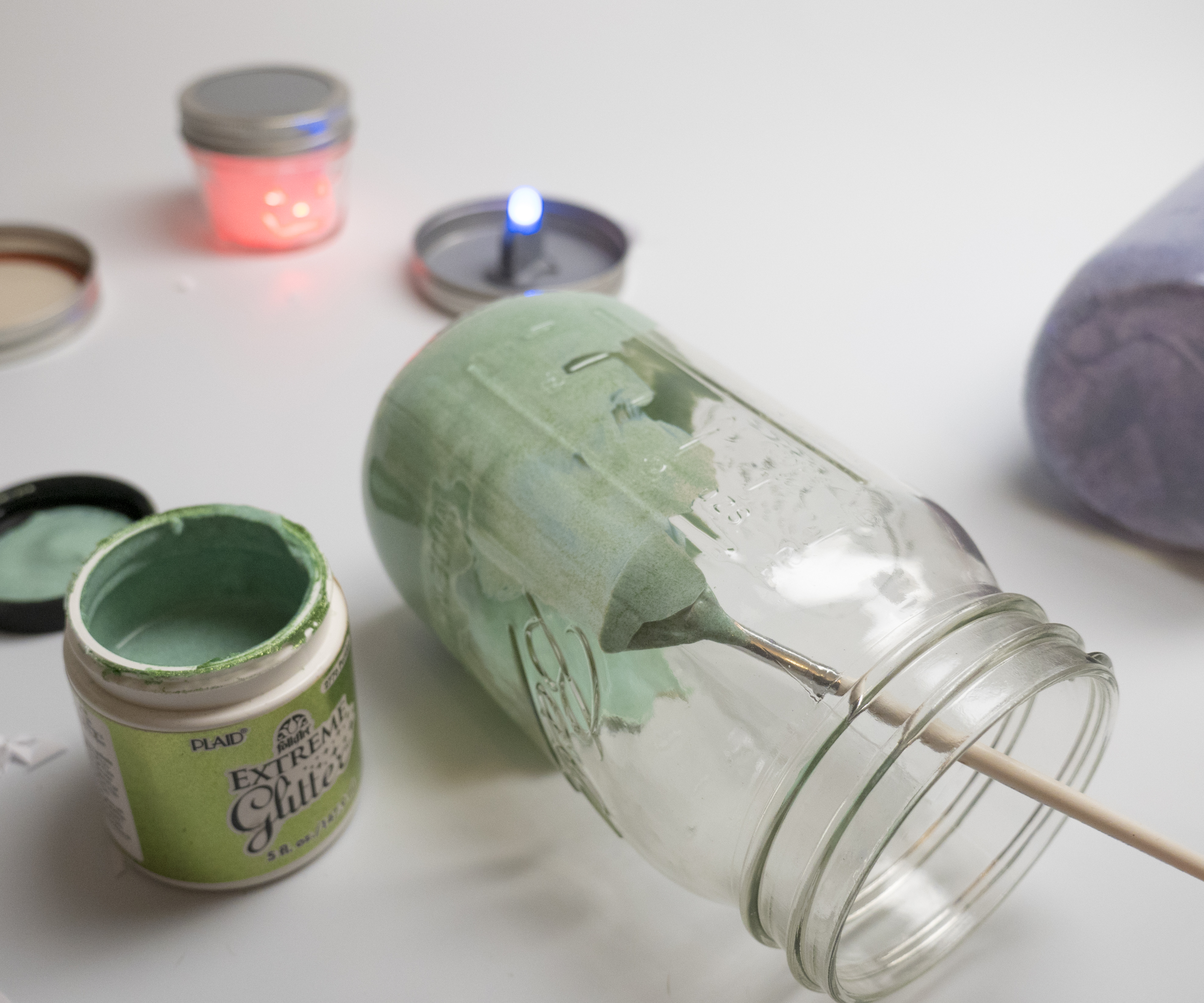 Picture of Paint the Inside With Glitter Glue