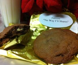 """Ferrero """"No Way I'll Shares"""" cookies"""