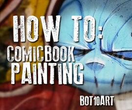 Comic Book Inspired Art Paintings