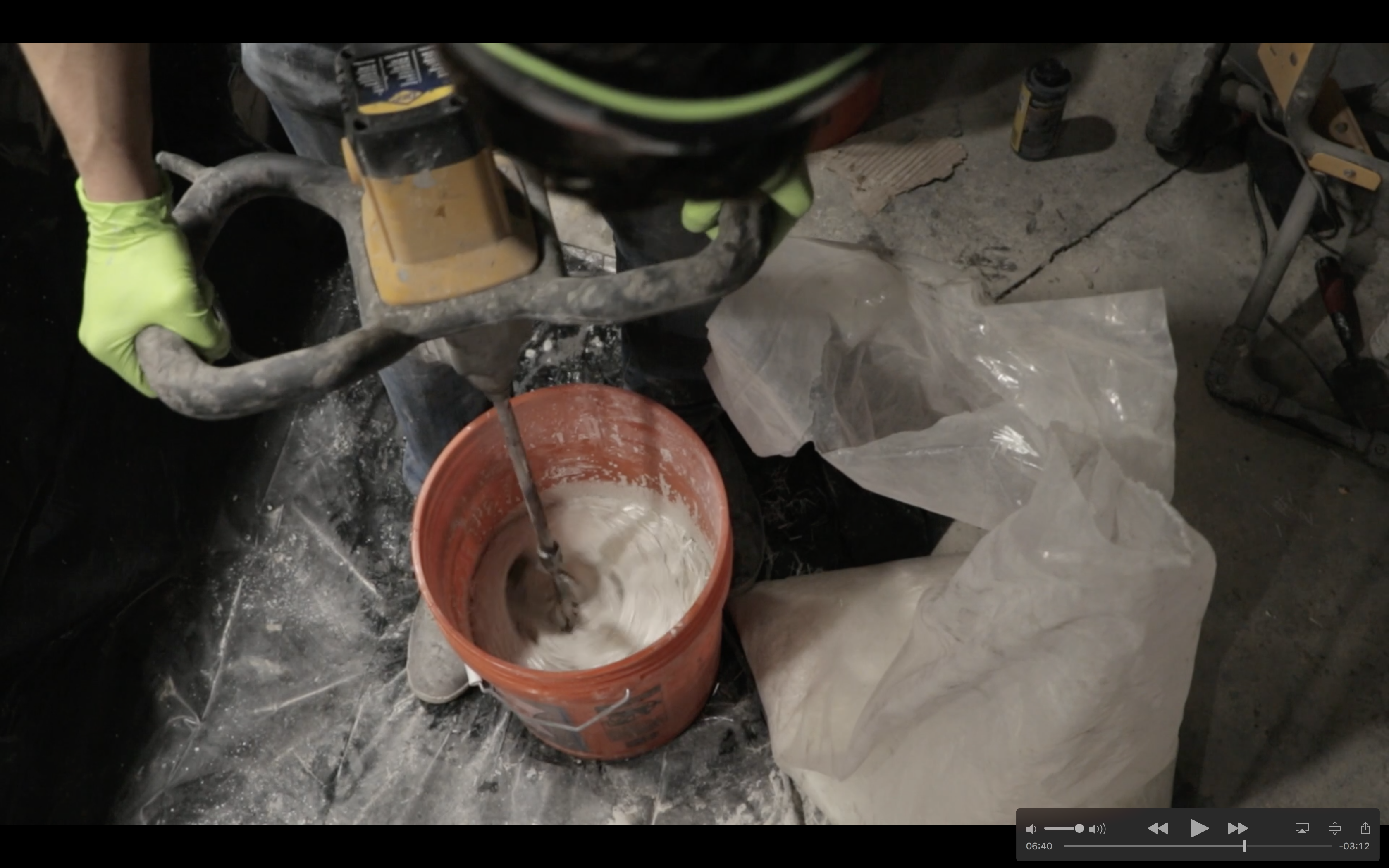 Picture of Mix and Pour the Concrete