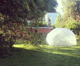 Greenhouse - Geodesic dome