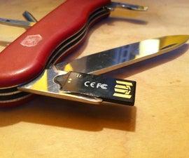 Swiss Army Knife + USB Flash Drive