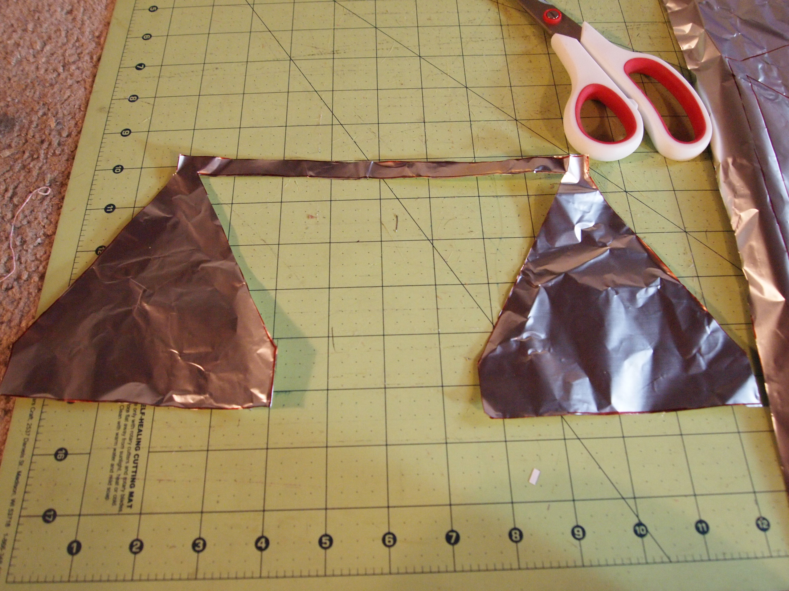 Picture of Cut Out Pieces for Antenna