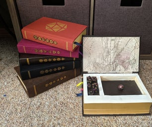 DnD RPG Book Dice Tray
