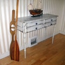 DIY: Vintage Buffet Table