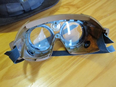 Steampunk Lab Goggles