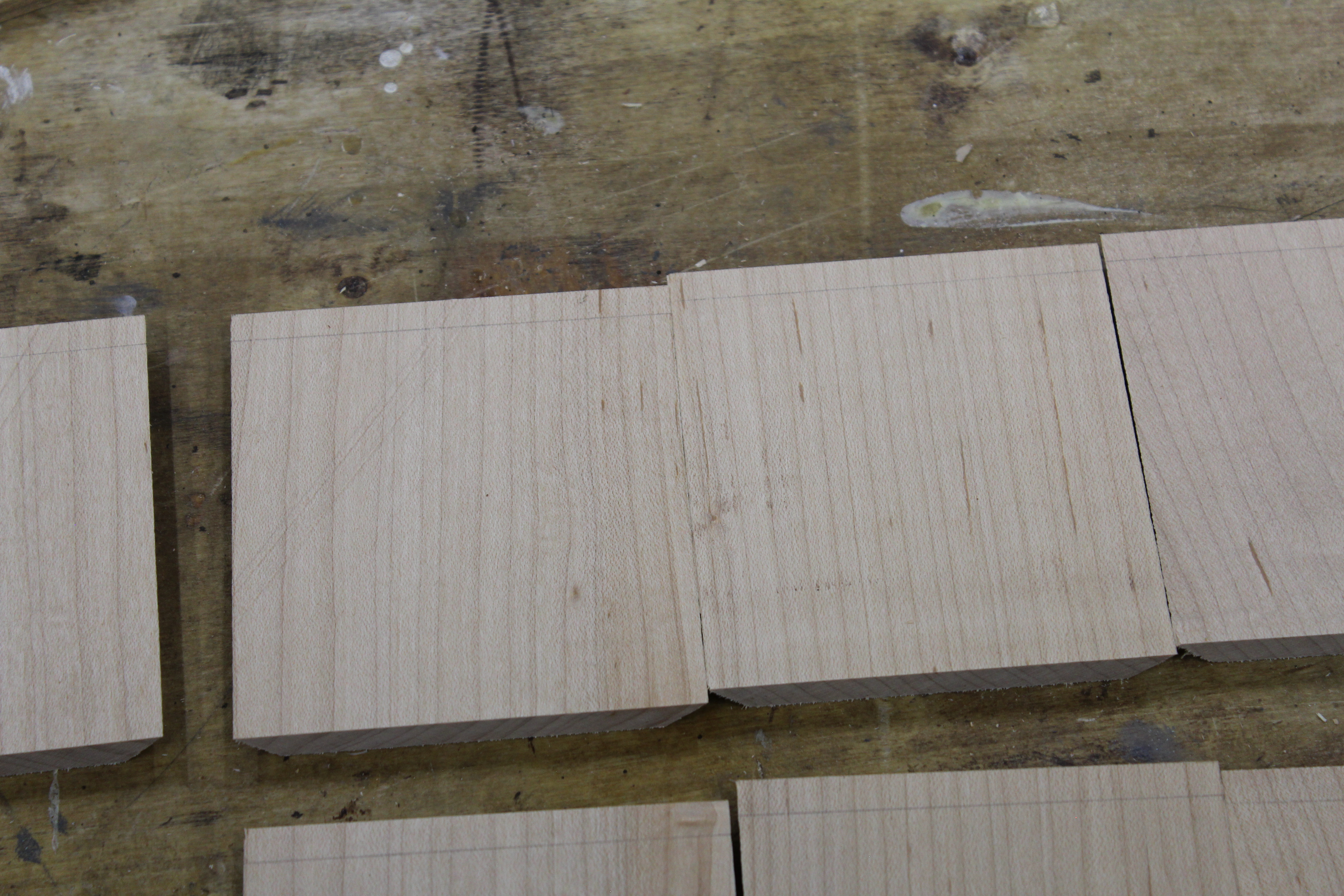 Picture of Mark the Bottoms of Each Wall for the Bottom Insert.