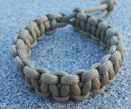 Mad Max Style Paracord Bracelet