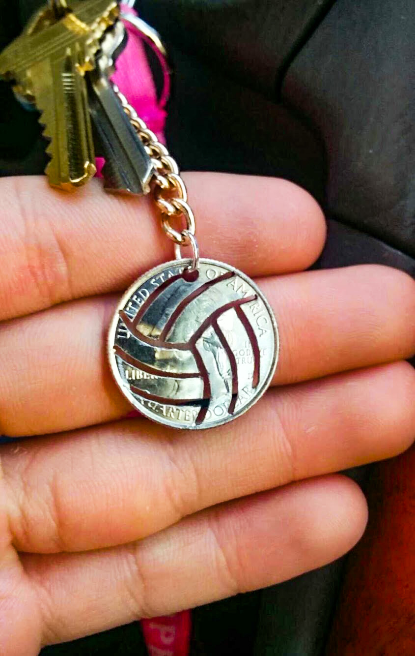 Picture of Custom Cut Coin Necklaces