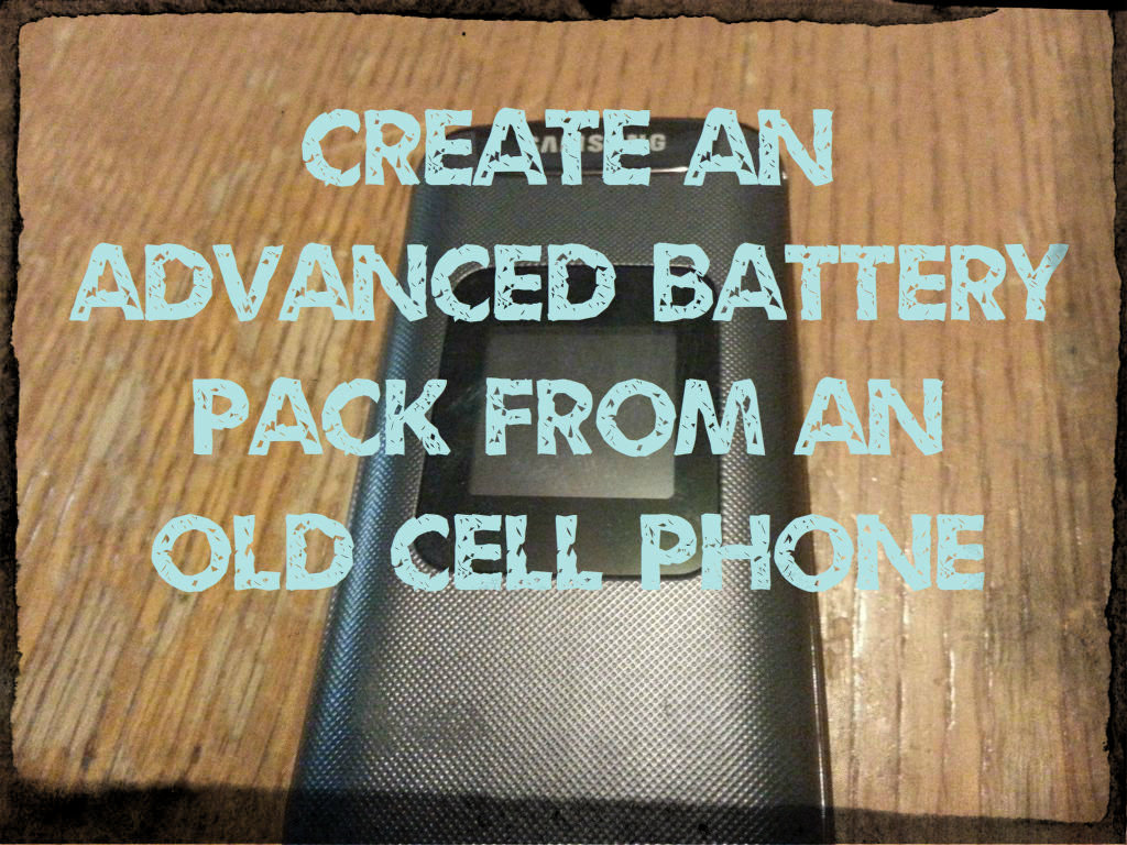 Picture of Advanced Battery Pack From Cell Phone