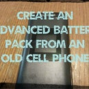 Advanced Battery Pack from Cell Phone