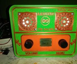 ARDUINO FM RADIO AND WI-FI THERMOMETER