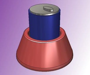 3D Printable No Tip Cup Coaster