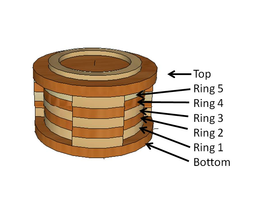 Picture of 5 Step Solution:  Making Notches on Rotating Rings