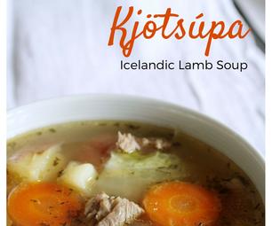 Kjötsúpa (Icelandic Lamb Soup)