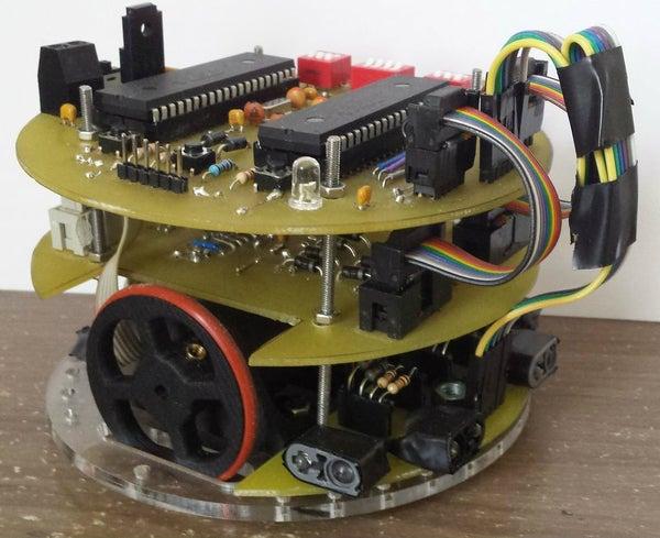 Micromouse(mobile Robot) IR Distance Sensor Board +tips