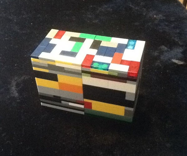 """How to Make Lego Puzzle Box No.3 """"Twins"""""""