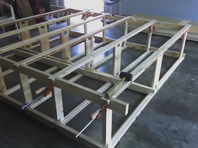 Picture of Assemble Legs to Shelves