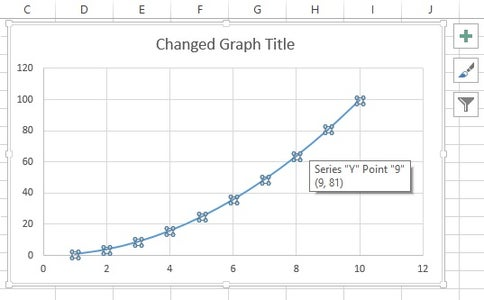 To Add a Trend Line to Your Graph, Left Click on the Line of the Graph. You Should See a Bunch of Blue Dots Show Up on Your Graphs Line If You Have Selected It Correctly. (See the Image for Reference.)