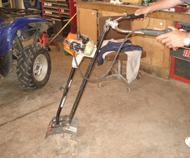 """How to make a """"MAD MANTIS"""" weedeater cultivator"""