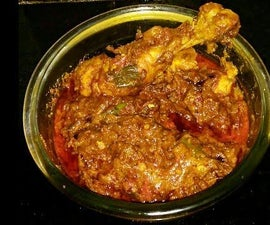 Ramadan Special Chicken Masala With Red and Spicy Gravy