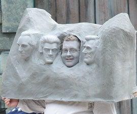How to make a Mount Rushmore Costume