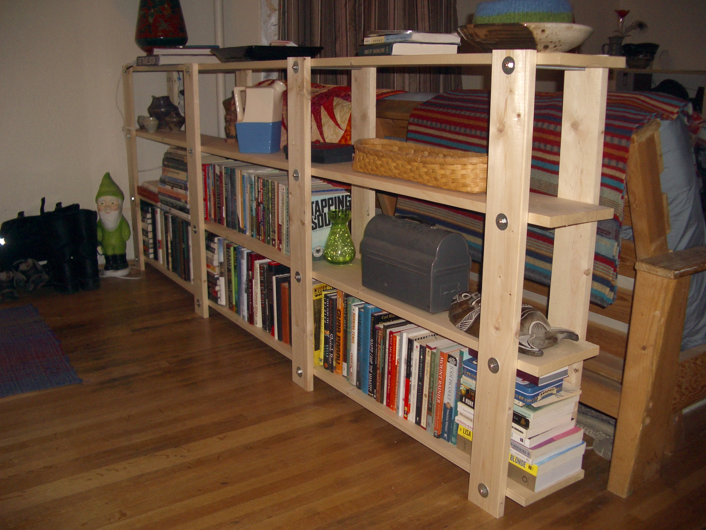 competitive price f6953 d3ec1 Cheap, Easy, Low-waste Bookshelf Plans: 5 Steps (with Pictures)