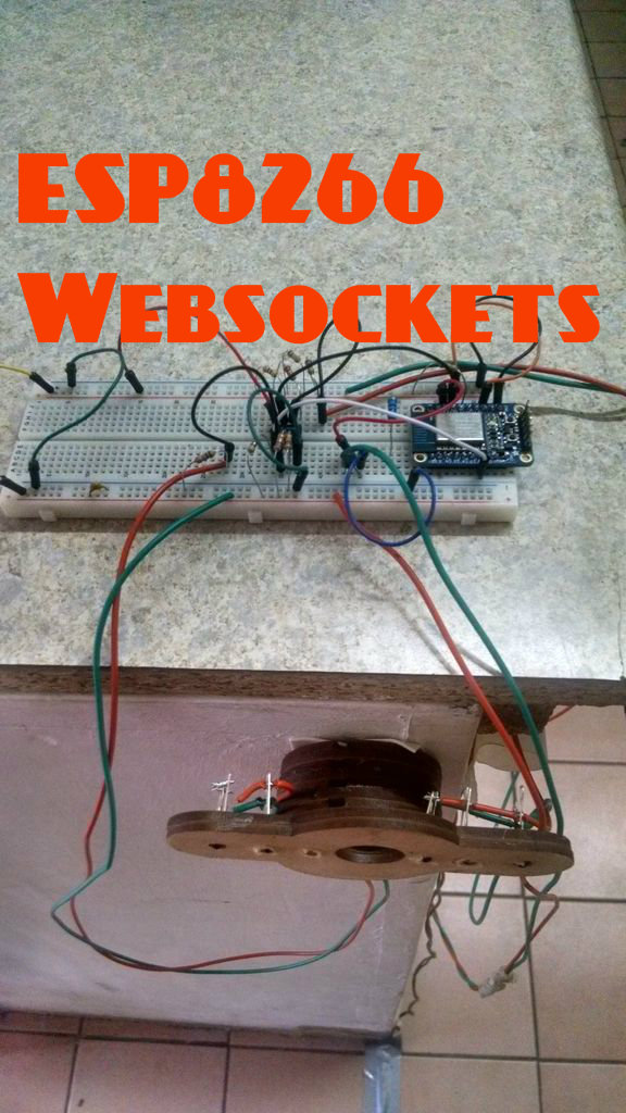Picture of ESP8266 With Websockets