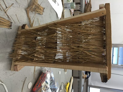 Glue Strips Onto Wooden Structure
